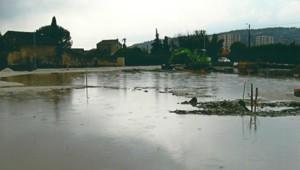 Inondation du lotissement Bouffard à Cavaillon. Photo envoyée par un internaute de TF1 News.