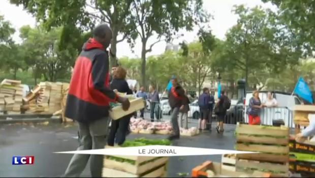 Les producteurs agricoles à Paris pour dénoncer les excès de la grande distribution