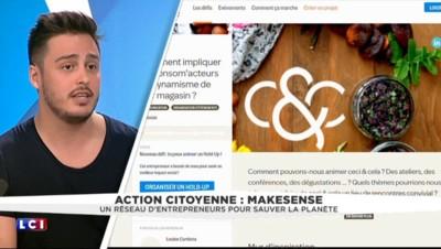 """""""MakeSense"""" : le Tinder des entrepreneurs pour sauver la planète"""
