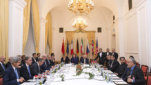 Negociations sur le nucléaire iranien, à Vienne, le 24 novembre 2014.