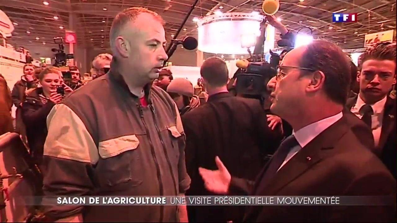 Salon de l agriculture hollande siffl et hu lci for Hollande salon agriculture