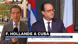 """Hollande à Cuba : """"L'embargo entrave le développement"""" du pays"""
