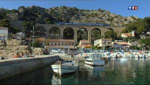 Le 13 heures du 1 juillet 2013 : Ports de la C�Bleue : Ensues-la-Redonne (1/5) - 2029.497