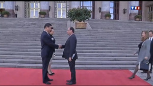 Le 20 heures du 25 avril 2013 : Hollande en visite en Chine - 998.088