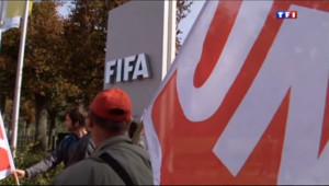Le 20 heures du 3 octobre 2013 : Coupe du monde 2022 : le choix du Qatar remis en question - 1567.1706359863279