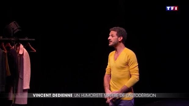 Le comique Vincent Dedienne se lance sur les planches