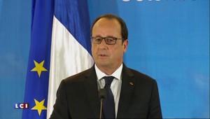 """Référendum grec : """"Si c'est le non, on est dans une forme d'inconnu"""", déclare Hollande"""