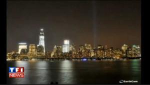 11-Septembre : la construction du nouveau gratte-ciel en images
