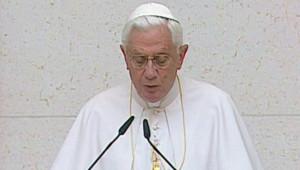 Benoît XVI, le 10 mai 2009