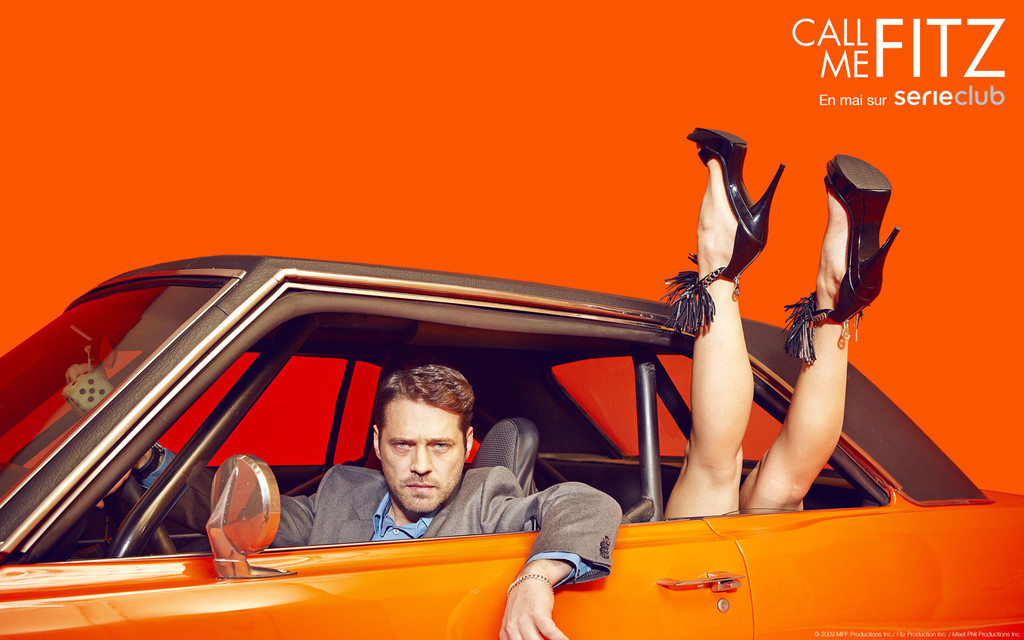 Call Me Fitz Saison 1 (2010), série créée par Sheri Elwood, avec Jason Priestley, Ernie Grunwald, Peter MacNeill ...