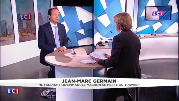 """Jean-Marc Germain sur Macron : """"Quand on a la confiance du Président, il faut en être digne"""""""