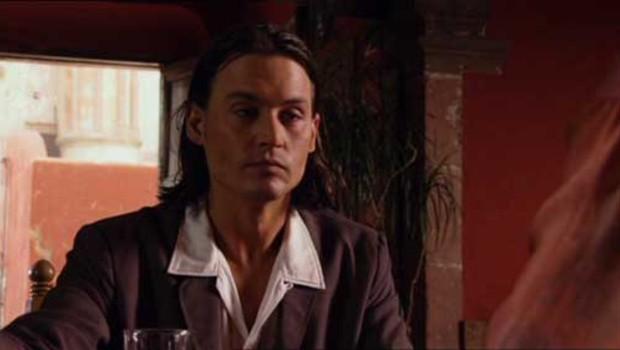 Johnny Depp dans Desperado 2 : il était une fois au Mexique, de Robert Rodriguez
