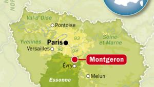 Montgeron, dans l'Essonne.