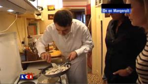 On en mangerait chez vous : pâtes à la carbonara