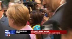 """Référendum grec : """"Un échec pour Merkel, un échec pour l'Allemagne"""""""