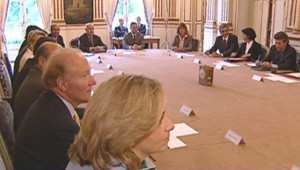 TF1-LCI : Premier Conseil des ministres, le 18 mai 2007