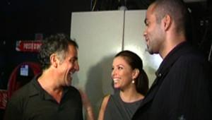 Tony Parker et Eva Longoria ont assisté à la première de Mozart Opéra rock