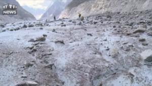 Victimes de la canicule, les glaciers du Mont-Blanc affichent une fonte 3 fois plus rapide