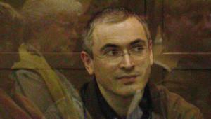 Archives : Mikhaïl Khodorkovski lors d'une audience de son procès, 22/9/2005