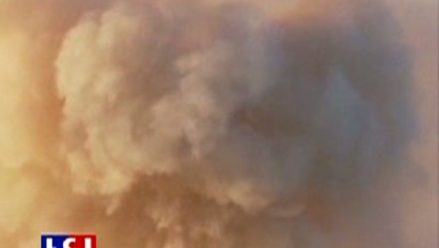 Californie : les images des incendies à Big Sur
