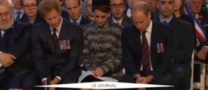 Centenaire de la bataille de la Somme : la famille royale aux côtés de Cameron et Hollande