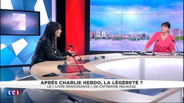 """L'après-Charlie Hebdo : """"On a tous cru qu'on arrêterait de dessiner"""", témoigne Catherine Meurisse"""