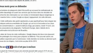Moteurs de recherche : Bruxelles accuse Google d'abus de position dominante