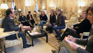 Hollande Sauvage Elysée filles