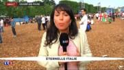 Italie-Espagne : les supporters italiens sur un petit nuage