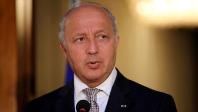 Le ministre des Affaires étrangères Laurent Fabius