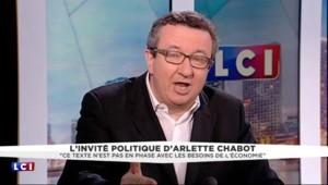 """Projet de loi travail : """"Le PS ne doit pas aller au naufrage"""" pour le chef de file des frondeurs"""