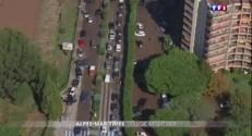 Alpes-Maritimes : les images aériennes des violentes intempéries