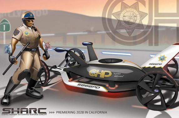 LA Design Challenge 2012 - Subaru Sharc