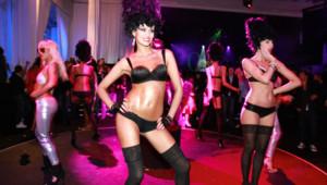 Danseuses VIP Room Festival de Cannes 2010