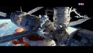 Le 13 heures du 20 octobre 2013 : Gravity, un film �rand suspens dans l%u2019espace - 766.6474999999999