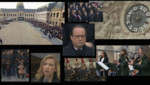 montage hommage aux victimes attentats 13 novembre Paris Invalides