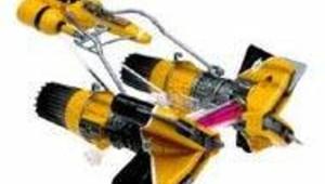 podracer de sebulba star wars épisode 1 jouet hasbro DR: AFP