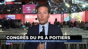 Congrès PS : l'unité du parti fissuré par la sortie de Montebourg
