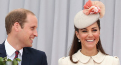 Le prince William et Kate Middleton à Liege en août 2014