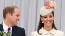 Le prince William et Kate Middleton à Liege en août 2014