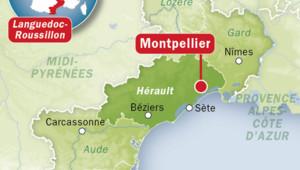 Carte de l'Hérault