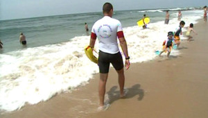 CRS plage sauveteurs maître-nageur mer enfants secours
