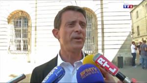 """Le 13 heures du 20 juillet 2015 : Manuel Valls aux éleveurs normands : """"Nous comprenons la détresse"""" - 298"""