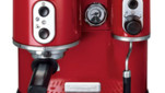 Machine  caf Kitchenaid rouge