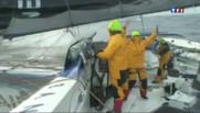 Trophée Jules Verne : Loïck Peyron en passe de battre un record