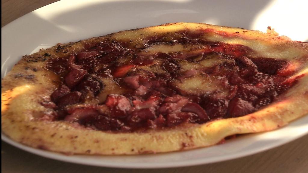 Cr pe paisse aux fraises petits plats en equilibre mytf1 - Recette cuisine tf1 petit plat en equilibre ...