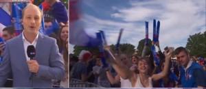 Allemagne-France : à Caen, les supporters réunis au château de Guillaume le Conquérant