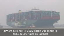 Allemagne : un des plus grands cargos du monde est en panne sur l'Elbe