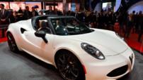 Le concept Alfa Romeo 4C Spider au Salon de Genève 2014