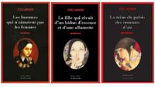 Les trois premiers tomes de la saga Millenium